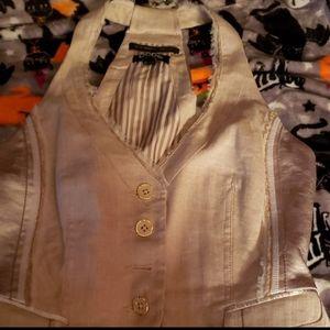 Bebe Gold Vest